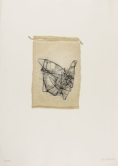 Claire Falkenstein, 'Struttura Grafica, Three Plates', 1963