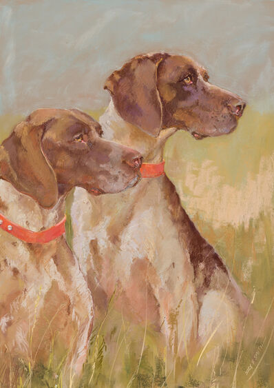 Suzy F. Smith, 'Shorthaired Pointers', Contemporary