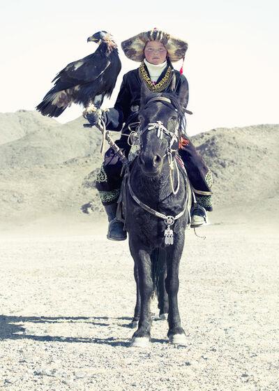 Lyle Owerko, 'Eagle Hunter 13', 2015