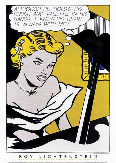 Roy Lichtenstein, 'Girl At Piano - 1963', 1997