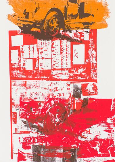 Robert Rauschenberg, 'Read Bleed (Ausstellung Galerie Beyeler, Basel)', 1984