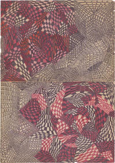 Teresa Burga, 'Insomnia Drawing (17)', 1990