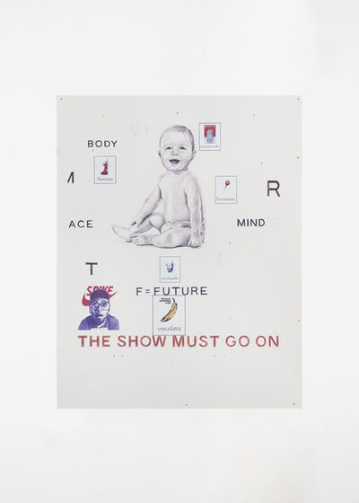 Giuseppe Stampone, 'The Show Must Go On', 2018