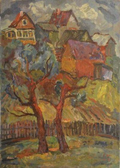 Vadim Semenovich Velichko, 'Two trees', 1996