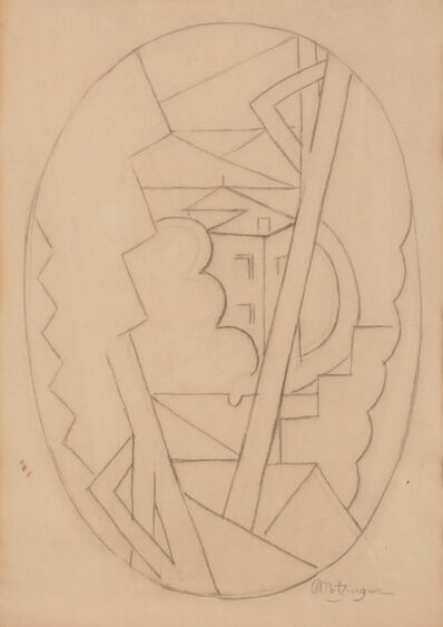 Jean Metzinger, 'Landscape with Roofs', 1916