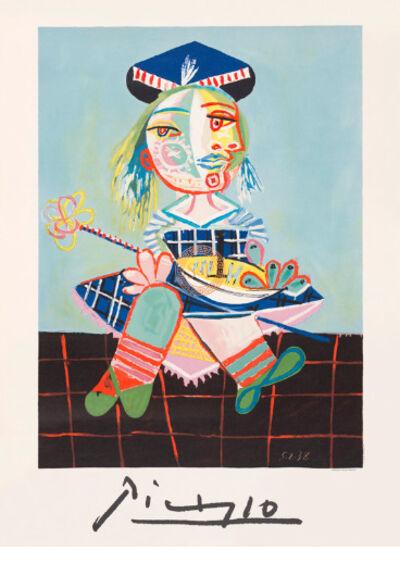 Pablo Picasso, 'La Fille de L'artiste a Deux Ans Et Demi Avec un Bateau', 1979-1982