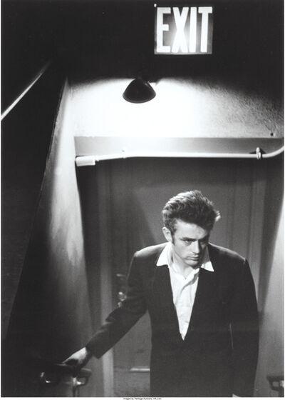 Roy Schatt, 'James Dean under Exit sign'