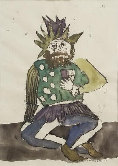 Maxwell Bates, 'Beggar King', 1976