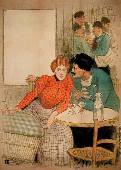 Théophile Alexandre Steinlen, 'L'Assommoir - Before Lettering', 1900
