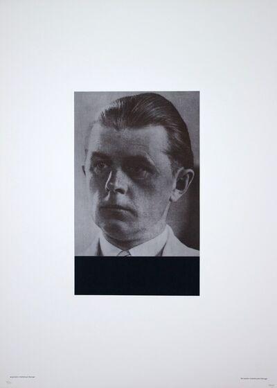 Fabio Mauri, 'Acquistano Intellettuali - Dwinger', 1976