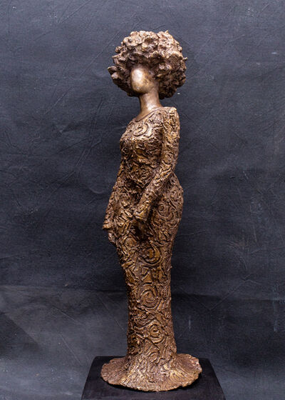 Victor Ehikhamenor, 'Omamojie (King's Daughter)', 2018