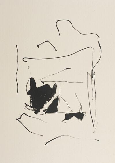 Robert Motherwell, 'Octavio Paz Three Poems 13', 1987