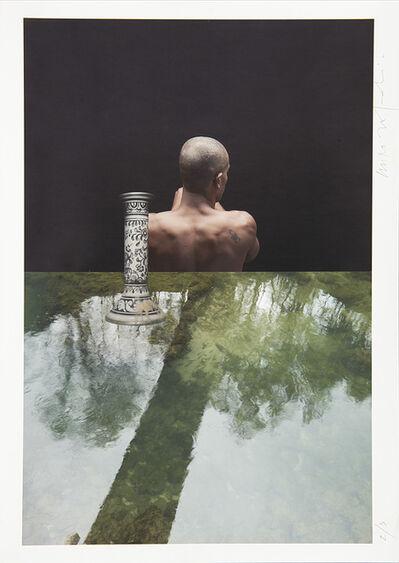 Miro Zagnoli, 'Composizione_27 (Uomo, candelabro, acqua)', 2011