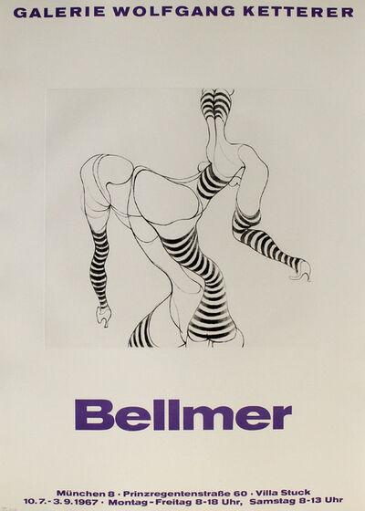 Hans Bellmer, 'Liegende in Strümpfen', 1967