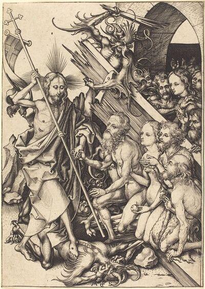 Martin Schongauer, 'Christ in Limbo', ca. 1480