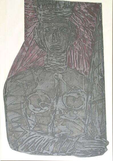 Choco, 'Homage to Portocarrero', 1990