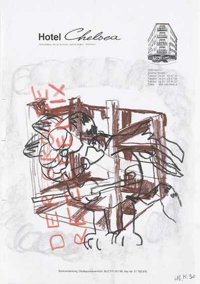 Martin Kippenberger, 'Untitled (Garfield)', 1990