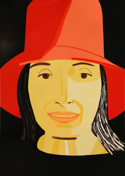 Alex Katz, 'Red Hat Ada', 2015