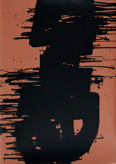 Pierre Soulages, 'SERIGRAPHIE N°3', 1974