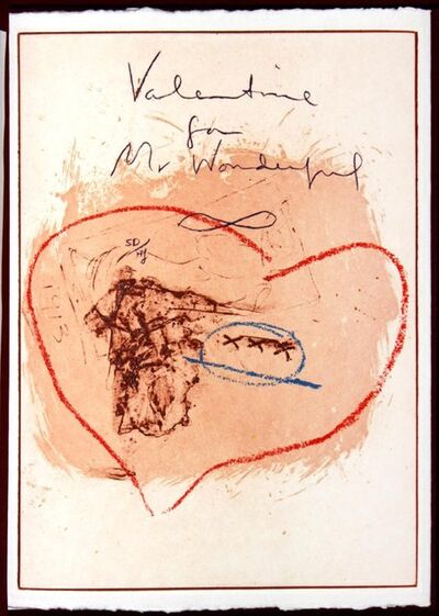 Helen Frankenthaler, 'Valentine for Mr. Wonderful', 1995