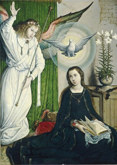 Juan de Flandes, 'The Annunciation', ca. 1508/1519