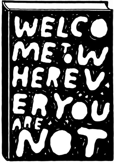 Stefan Marx, 'Welcome to wherever you are not', 2014