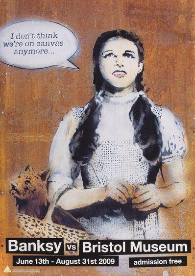 After Banksy, 'Banksy vs. Bristol Museum, poster', 2009