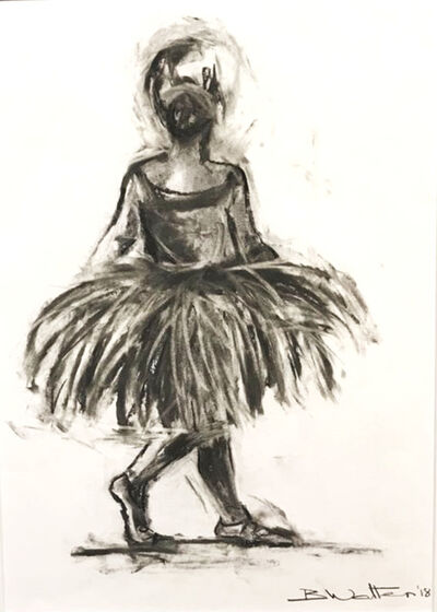 Bonnie Walters, 'Ballerina from behind'