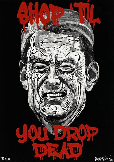 Robbie Conal, ''Shop Till You Drop--Dead' (GA Gov. Brian Kemp)', 2020