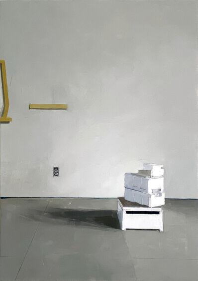 Jenny Brillhart, 'Off-center Stack', 2021