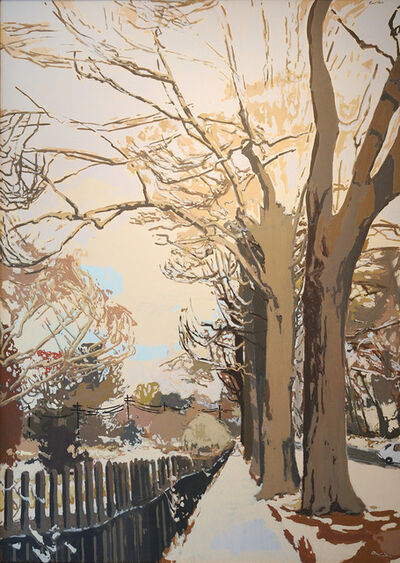 Robert Dash, 'The Last Snow of Spring', 1980