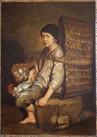 Giacomo Ceruti, 'Boy with a basket (The porter)', ca. 1735
