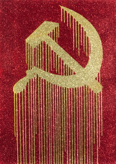 Zevs, 'Liquidated Hammer Sickle (Some Prints Are Created More Equal Than Others)', 2011