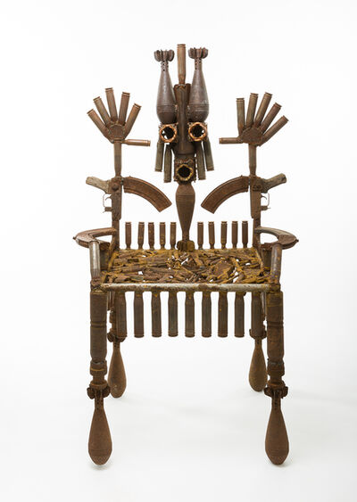 Gonçalo Mabunda, 'The Throne of the Mandated', 2016