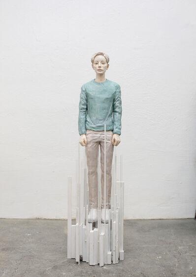 Hirofumi Fujiwara, 'utopian (pixel)', 2019