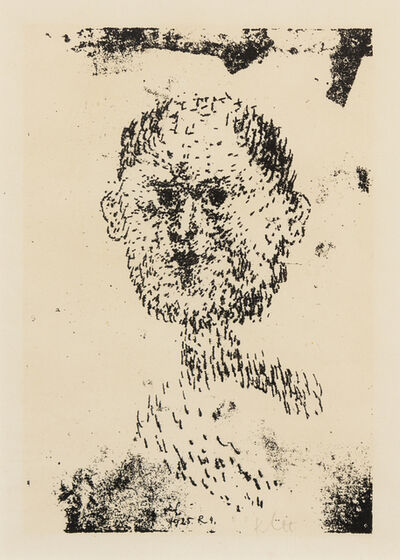 Paul Klee, 'Kopf (Bartiger Mann) (Bearded Man)', 1925