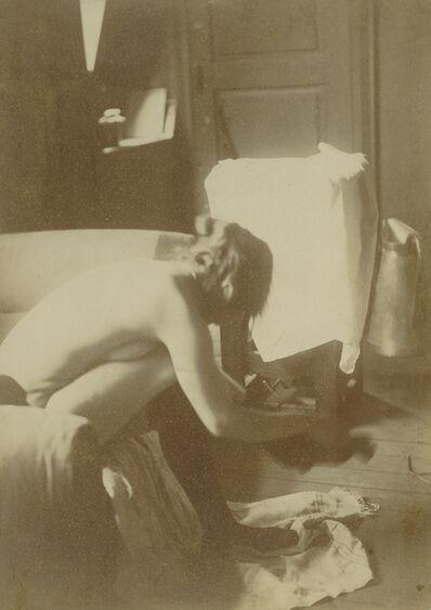 Edgar Degas, 'Seated Nude', 1895