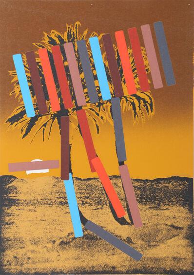 Menashe Kadishman, 'Gold Palm', 1979