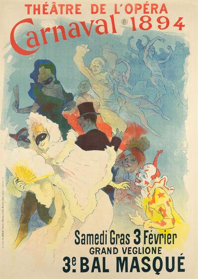 Jules Chéret, 'THÉÂTRE DE L'OPÉRA – CARNAVAL 1894', 1894