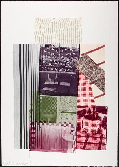 Robert Rauschenberg, 'Pre Morocco', 1983