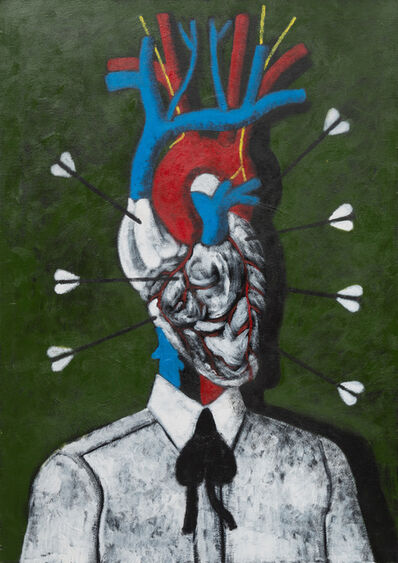Abe Odedina, 'Heart and Mind', 2018