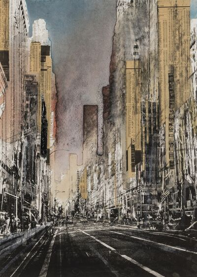 Gottfried Salzmann, 'Hong Kong I; New York: Last Chance; Yellow Sky'