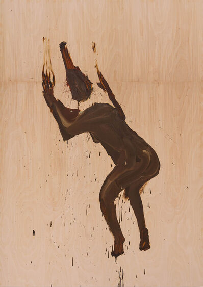 Tala Madani, 'Shit Mom (Wood Worship)', 2021