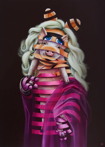 Super A, 'Miss Piggy - Trapped Series', 2019
