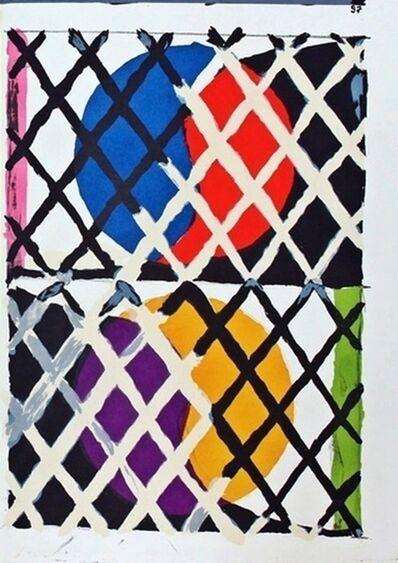 Alfred Jensen, 'Puzzle II', 1964