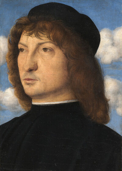 Giovanni Bellini, 'Portrait of a Venetian Gentleman', ca. 1500