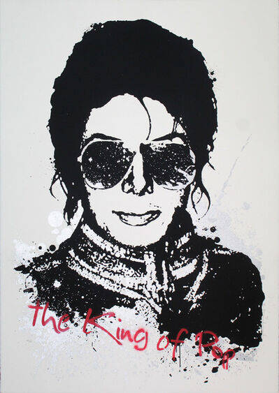 Mr. Brainwash, 'King of Pop', 2009