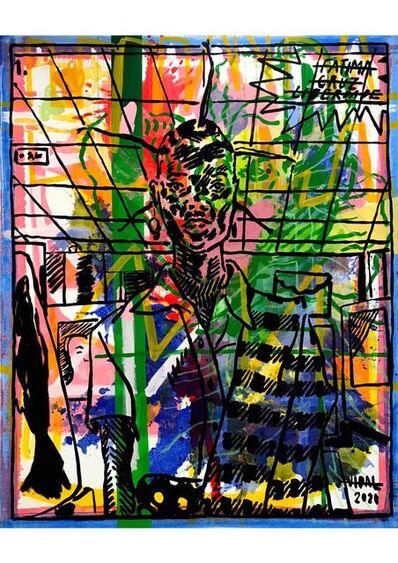 "Francisco Vidal, '""LUUANDA RISING: SOCIAL JUSTICE 01""', 2020"