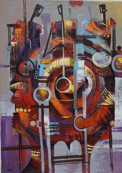 Godwin Adjei Sowah, 'Music Music', ca. 2016