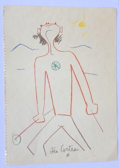 Jean Cocteau, 'Un Skieur (The Skier)', 1959